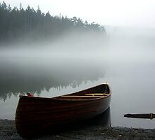 Pass Lake Canoe by Rick Lawler