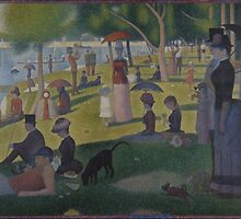 Georges Seurat - A Sunday on La Grande Jatte - 1884 by forthwith