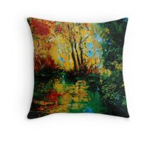 pond 2 Throw Pillow