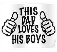 LOVE HIS BOYS  Poster