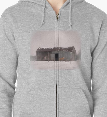One Is The Loneliest Number Zipped Hoodie