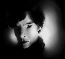 Sherlock B&W by goodgeekery