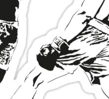 Muhammad Ali vs Joe Frazier - Rumble in the Jungle - Boxing Legends Sticker