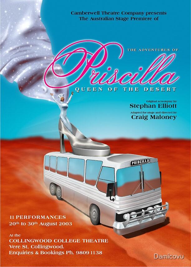 Priscilla, version 1 by Damicovu