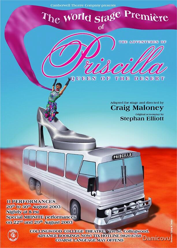 Priscilla, version 2 by Damicovu