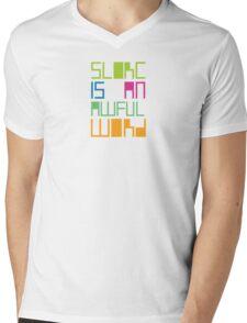 siaaw Mens V-Neck T-Shirt