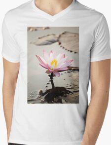 Lotus flower Mens V-Neck T-Shirt