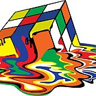 Melting Cube by TinaGraphics