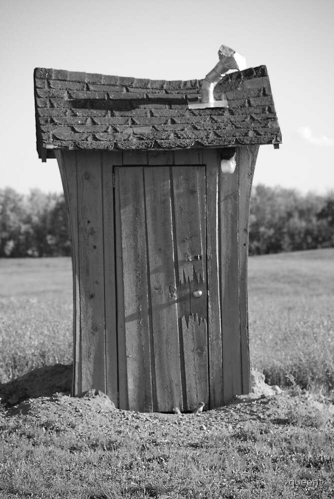 gophers outhouse by queent