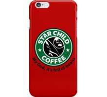 Star Child Coffee iPhone Case/Skin