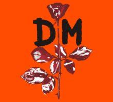 Depeche Mode : Violator DM Paint Black  Kids Clothes