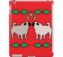 christmas pugs & kisses iPad Case/Skin