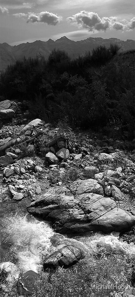 Lake Wakatipu Stream by MichaelHood
