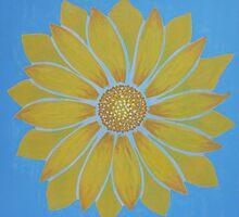 SUNBURST FLOWER by RoseLangford