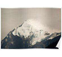 Pandim's peak in the Himalayas Poster