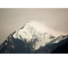 Pandim's peak in the Himalayas Photographic Print