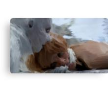 Yewll and Irisa  Canvas Print