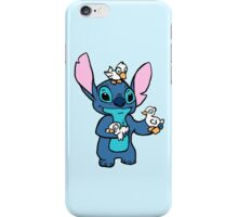 Stitch with Ducks iPhone Case/Skin