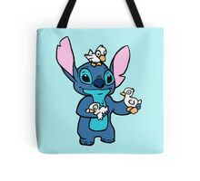 Stitch with Ducks Tote Bag