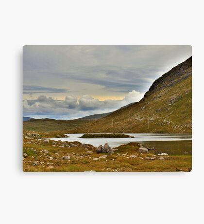 Harris in the Hebrides Canvas Print