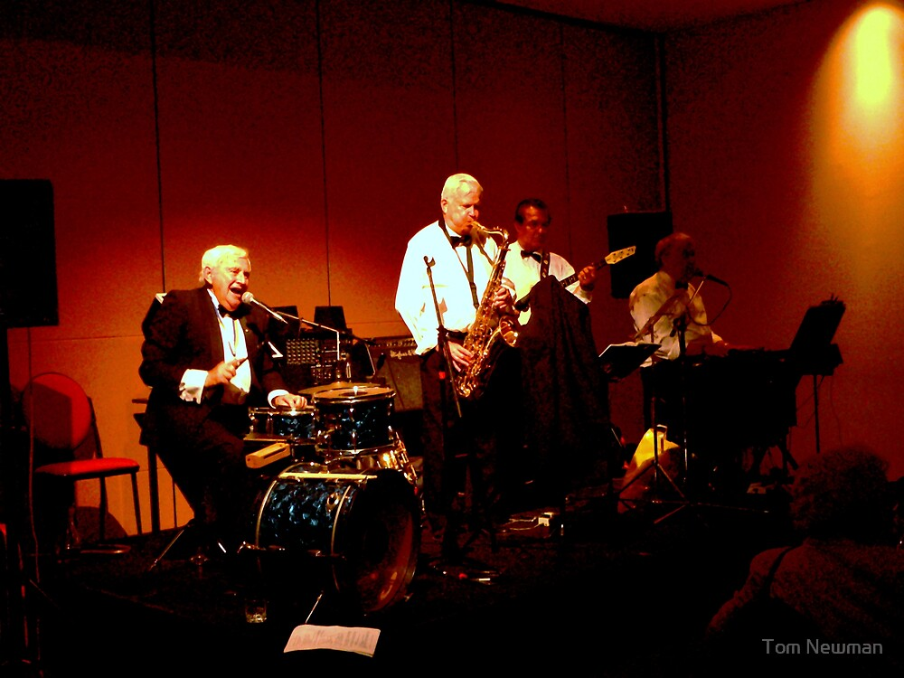 The Tommy Carter Jazz Band by Tom Newman