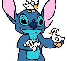 Stitch with Ducks by jasmine16