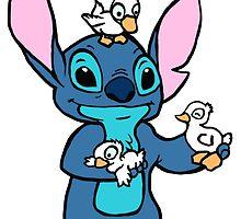 Stitch with Ducks by jasmine16