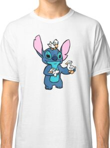 Stitch with Ducks Classic T-Shirt