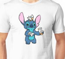 Stitch with Ducks Unisex T-Shirt