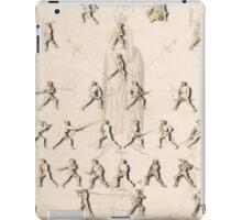 """The Poste (Positions/Guards) """"Getty"""" Fiore dei Liberi iPad Case/Skin"""