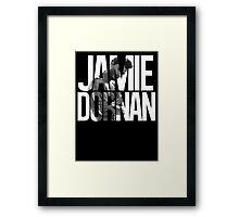 Jamie Dornan Framed Print