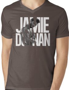 Jamie Dornan Mens V-Neck T-Shirt