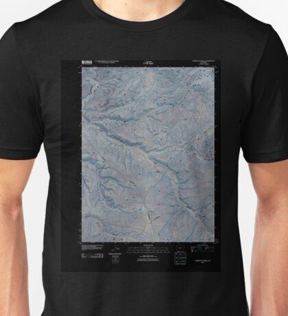 USGS TOPO Map Colorado CO Vermillion Mesa 20100901 TM Inverted Unisex T-Shirt