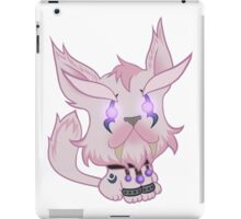 Kitty is for Feral : White Cat iPad Case/Skin