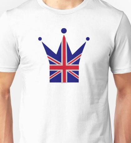 Crown United Kingdom flag Unisex T-Shirt