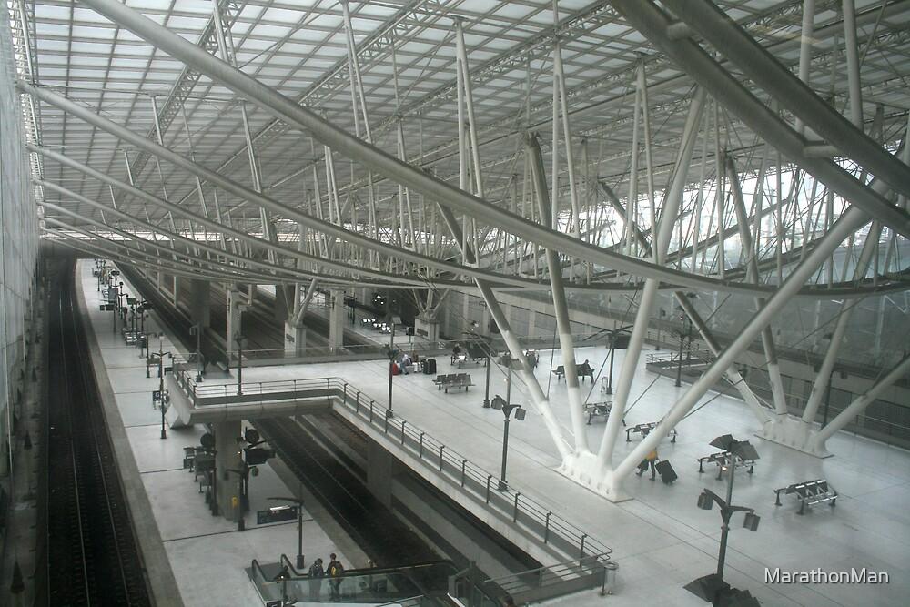 Charles de Gaulle Airport by MarathonMan