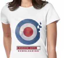 MOD DOWNLOAD - THE MODERN WORLD Womens Fitted T-Shirt