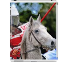 Medieval Knight On Horse Ready For Joust iPad Case/Skin