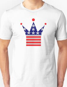 Crown United States flag T-Shirt