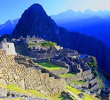 Machu Picchu, Peru by Rebecca Smith