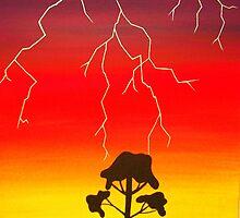 Lightning Strike by Derek Trayner