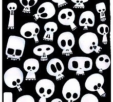 Skulls by Alfonso Rosso