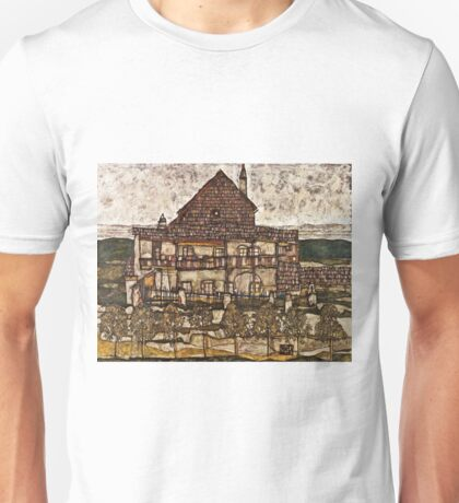 Egon Schiele - House With Shingle Roof (Old House Ii) (1915) Unisex T-Shirt