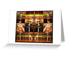the martian faery dance Greeting Card