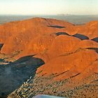 Looking over Kata Tjuta by Graeme  Hyde