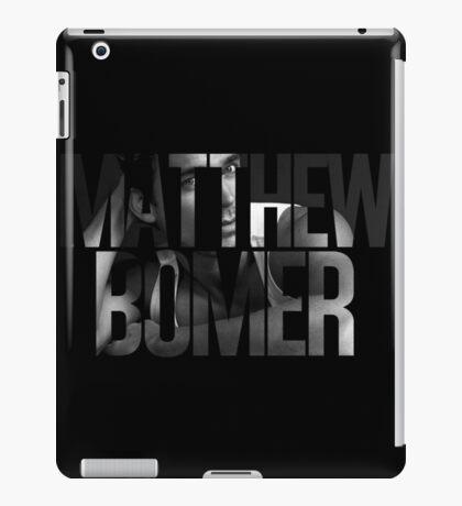 Matthew Bomer iPad Case/Skin