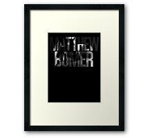 Matthew Bomer Framed Print