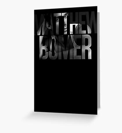 Matthew Bomer Greeting Card