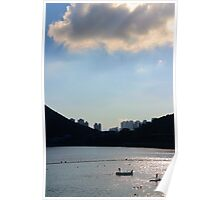 Light & Shadow - Hong Kong. Poster