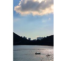 Light & Shadow - Hong Kong. Photographic Print